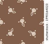 seamless background flower...   Shutterstock .eps vector #1990164023