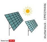 solar energy vector icon...   Shutterstock .eps vector #1990194446