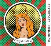 Zodiac Sign Capricorn Woman....