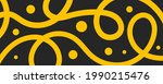pasta background. wide banner... | Shutterstock .eps vector #1990215476
