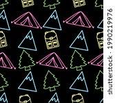 vector illustration of neon...   Shutterstock .eps vector #1990219976