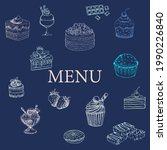 an vector of menu with...   Shutterstock .eps vector #1990226840