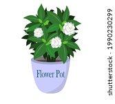 an vector illustration of plant ...   Shutterstock .eps vector #1990230299