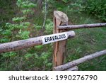 Sign On The Fence. Sign With...