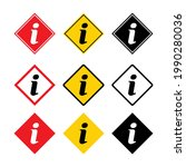 set of information help icon  ... | Shutterstock .eps vector #1990280036