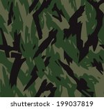 razor camouflage | Shutterstock .eps vector #199037819