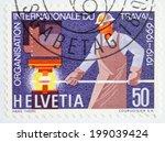 switzerland   circa 1969  ... | Shutterstock . vector #199039424