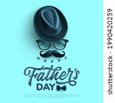 father's day poster or banner... | Shutterstock .eps vector #1990420259