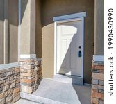 Square Front Entrance With...