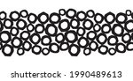 abstract seamless border with... | Shutterstock .eps vector #1990489613