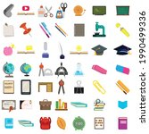 school and education vector...