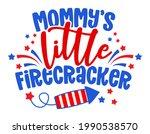 mommy's little firecracker  ... | Shutterstock .eps vector #1990538570
