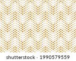 the geometric pattern with... | Shutterstock .eps vector #1990579559