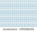 flower geometric pattern.... | Shutterstock .eps vector #1990580450