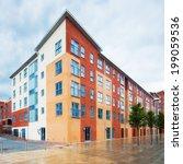 modern  new executive apartment ...   Shutterstock . vector #199059536