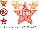 collage 2021 star hit parade...   Shutterstock .eps vector #1990628699