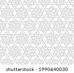the geometric pattern with... | Shutterstock .eps vector #1990640030