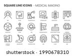 medical imaging related  square ... | Shutterstock .eps vector #1990678310