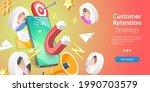 3d isometric flat vector... | Shutterstock .eps vector #1990703579