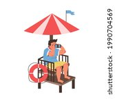 Lifeguard Male Character...