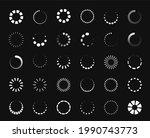 circle loader icon. round...