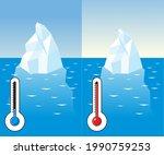 iceberg in the ocean ...   Shutterstock .eps vector #1990759253