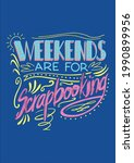 cool weekends are for... | Shutterstock .eps vector #1990899956