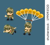 Paratrooper Character...