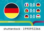 germany national team schedule... | Shutterstock .eps vector #1990952366