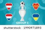 group   of european football... | Shutterstock .eps vector #1990971893