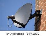 Satellite Dish On Wall