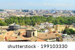 aerial panoramic view of rome...   Shutterstock . vector #199103330