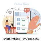 jeweler online service or... | Shutterstock .eps vector #1991065853