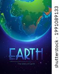 Story Of The Earth Poster With...