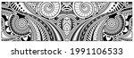 polynesian tattoo pattern maori ... | Shutterstock .eps vector #1991106533