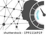 concept of human abilities ... | Shutterstock .eps vector #1991116919