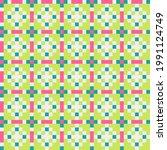abstract cross pattern... | Shutterstock .eps vector #1991124749