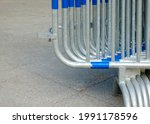 Security Guard Rails On The...