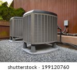 hvac heating and air... | Shutterstock . vector #199120760