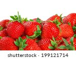 Fresh Red Ripe Strawberries...