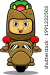 kebab mascot character cartoon...   Shutterstock .eps vector #1991232503