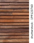 wall made from wood plank. | Shutterstock . vector #199123760