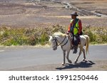Blurred Image Of A Man Riding A ...