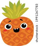 pineapple in the style of...   Shutterstock .eps vector #1991267783