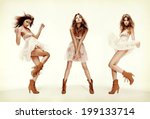 fashion and glamour concept  ... | Shutterstock . vector #199133714