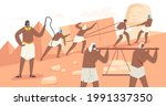 slave characters building... | Shutterstock .eps vector #1991337350