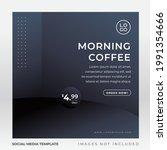 healthy juice and drink banner...   Shutterstock .eps vector #1991354666