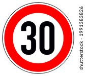 Isolated Traffic Sign Speed...