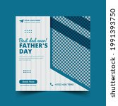 happy father's day social media ... | Shutterstock .eps vector #1991393750