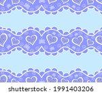 decorative vector seamless... | Shutterstock .eps vector #1991403206